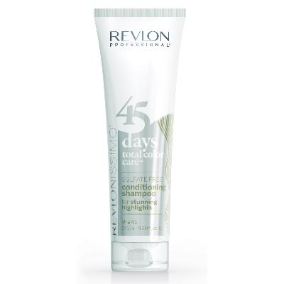 45 DAYS HIGHLIGHTS SPECIAL MECHES Shamp/condi REVLON tube 275ml