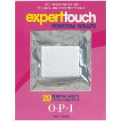 EXPERT TOUCH Removal WRAPS x 20 OPI