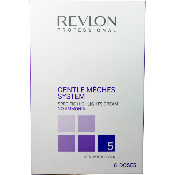 "Kit ""GENTLE MECHES SYSTEM""5 tons REVLON boite 6 doses"
