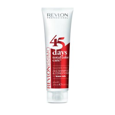 45 DAYS BRAVE REDS Shamp/condi REVLON tube 275ml