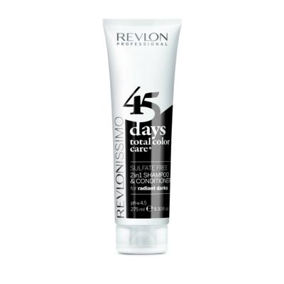 45 DAYS RADIAN DARKS Shamp/condi REVLON tube 275ml