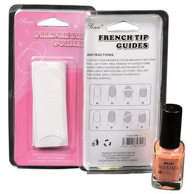 Sachet 50 Formes guides French manucure